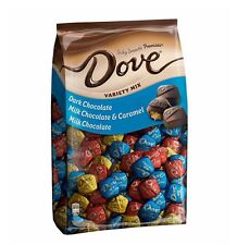 DOVE PROMISES Variety Mix Dark Milk Caramel Chocolate - 153 Pieces Candy Bag NEW
