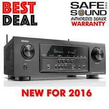 DENON AVR-S720W 7.2 AV Home Theater Receiver AVRS720W | REPLACES AVRS710W