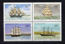 s1908a) MARSHALL ISL. 1987 MNH**Ships 4v