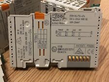 Wago 750-474 2-Channel Analog Input Module 0/4-20 mA (used, cleaned, tested)