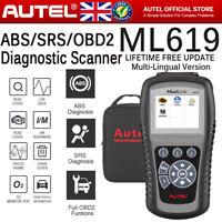 ABS Airbag SRS Reset Tool OBD2 Car Fault Code Reader Diagnostic Scanner Services