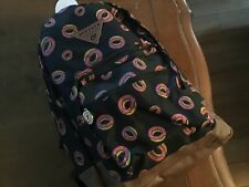 Odd Future OFWGKTA Black Donut Backpack Worn Tyler the Creator New With Tag