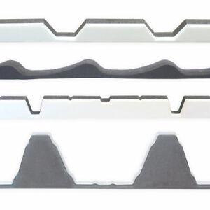 Sickenfüller, Profilfüller groß/klein 2 Stk für Well-, Dachpfannen-, Trapezblech