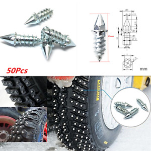 Car Wheel Tire Nail Spike Anti-Slip Screw 27mm Winter Snow Pavement  Slip Stud