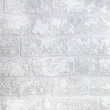 Paintable Wallpaper 3D Brick Effect Luxury Textured Vinyl Lincolnshire Anaglypta