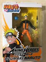 Naruto Shippuden Anime Heroes - Uzumaki Naruto Action Figure