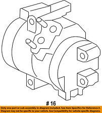 CHRYSLER OEM-A/c Compressor 68160395AE