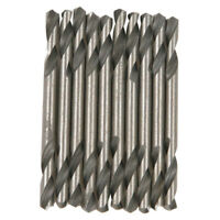 """SINGLE /& DOUBLE ENDED 2.4-6.5mm  3//32/""""-1//4/"""" 10 x HSS QUALITY STUB DRILL BITS"""