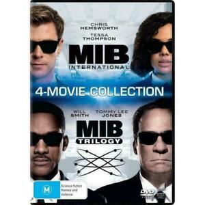 MIB Men In Black 4 Movie Collection DVD REG 4