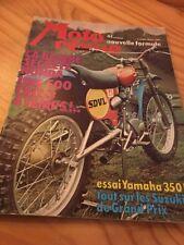 MOTO REVUE 1974 N° 2196 Poster Phil Read , Yamaha RD 350 , Guzzi 125 trail ....