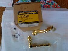 Baldwin Lockset # 5108.003.MR Minus Lever Lifetime Polished Brass Handle New NIB