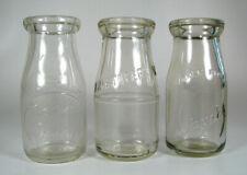 3 dif 1/2 PT old milk bottles PORT ANGELES, SEATTLE, & BAKER DAIRY Kristoferson