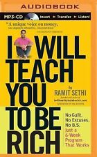 I Will Teach You to Be Rich by Ramit Sethi 9 Hours MP3 CD  (2015, Unabridged)