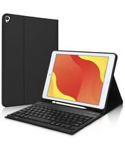 New iPad 8th/7th Generation Case with Keyboard and Pencil Holder