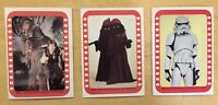 1977 Topps Star Wars Series 4 Stickers (3) Card Lot