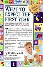 What to Expect the First Year by Heidi E. Murkoff and Sharon Mazel 2009 Aus Ed