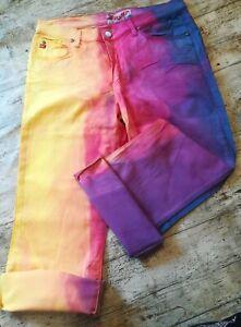 Miss Sixty Batik Capri Jeans. NEU. GR. 30. Stretch.