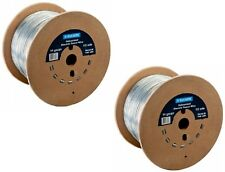 (2) ea Bekaert 118220 1/4 Mile 1320' ft 14 gauge Electric Fence Wire