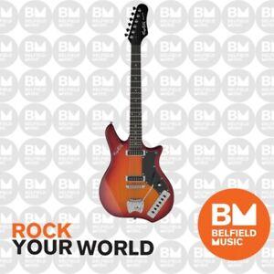 Hagstrom Impala Retroscape Electric Guitar Cherry Sunburst w/ Hardcase