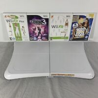 Nintendo Wii Fit Plus Balance Exercise Board w/ 4 Games Bundle Tested!