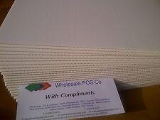 CORREX SIGNE board blanc cannelé PLANCHE 813 mm x 610 mm x 5 agent immobilier SIGNE Board