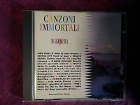 COMPILATION - CANZONI IMMORTALI (ARMANDO CURCIO EDITORE, 14 TRACKS). CD.