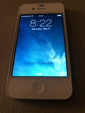 Apple iPhone 4 8gb White AT&T Touchscreen Bluetooth A1332 Smartphone