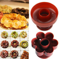Plastic Donut Maker Biscuit Cutter Mold Pastry Cookie Cake Decoration Mould Tool