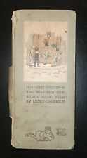 1911 Hop O'My Thumb & The Wolf And The Seven Kids, 1st Ed., L. Chisholm, Illust.