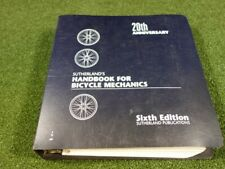 Sutherland's Handbook For Bicycle Mechanics Sixth Addition 20th Anniversary