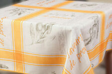Water-Resistant Tablecloth Provence French Country Print Rectangular EASY-CLEAN