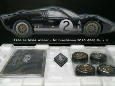 GMP 1:12 Scale 1966 Le Mans Winner - McLaren/Amon FORD GT40 Mark II