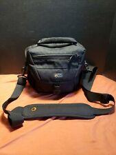 Lowepro Medium/Large Camera Shoulder Bag W/ Waterproof Cover. Adjustable slots