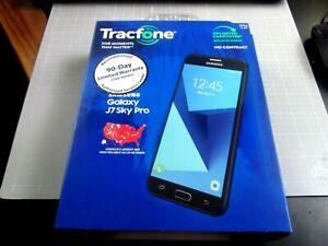 Samsung Galaxy J7 Sky Pro - 16GB - Black (TracFone) Smartphone Reconditioned