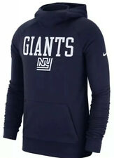 Nike Men's New York Giants Lightweight Historical Hoodie Sweatshirt XL NFL
