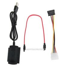 SATA PATA IDE Drive to USB 2.0 Adapter Converter Cable for 2.5 3.5 Hard Drive