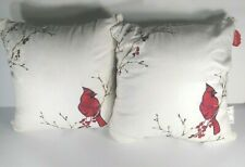 St. Nicholas Square Holiday Winter Decorative Pillow Cardinal New With Tag 12X12
