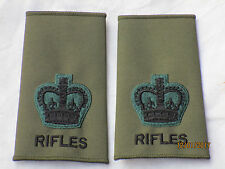 Rango cinghie: battaglioni, Warrant Officer 2, CSM, verde oliva