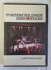 2001 Poster Children Zero Stars Dvd Tour Diary ~ indie rock