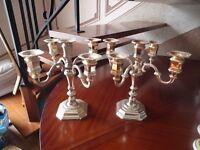 chandeliers en métal 4 branches très élègant