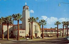 Phoenix Arizona~Central Methodist Church~1960 Postcard