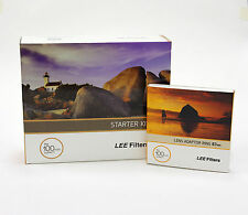 Lee Filters 100 Starter Kit+Lee 67mm Standard Adapter Ring.Brand New