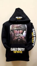 Call Of Duty WWII SWEATSHIRTS (NEW) Adult Sizes Black Hoodie