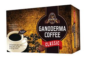 Ganoderma Coffee, Avarle Classic Black, Healthy Coffee - 1 Box (20 sachets)