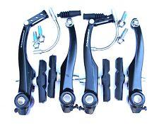 FULL SET PROMAX 110mm Black Alloy V brakes, MTB, Trekking etc , 60mm PADS