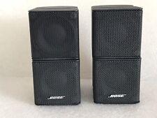 2 x Bose Lifestyle Premium Jewel Cube Speakers, Black