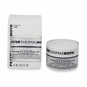 Peter Thomas Roth • Power K Eye Rescue • Eye Care • 0.5 oz • New • AUTHENTIC