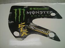 Monster energy decal kit graphics   Kawasaki KX65 & 02-09  KLX110 klx 110