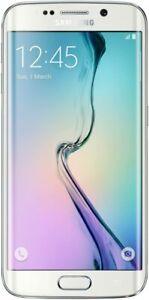 Samsung Galaxy S6 Edge White - 32GB Smart Phone / Unlocked