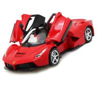 1:32 Scale La Ferrari Metal Diescast Model Cars Toys Sound&Light Collection Gift